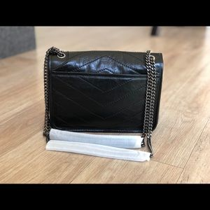 ee6f28600d YSL Baby Niki in crinkled vintage leather
